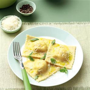 Fresh Basil (Non-Cheese) Ravioli