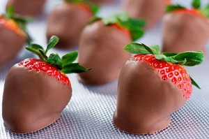 (Gluten-Free) Chocolate-Covered Fruit