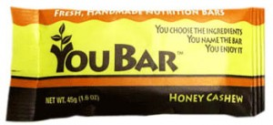 You Bar –Create and Name Your Own Healthy Bar