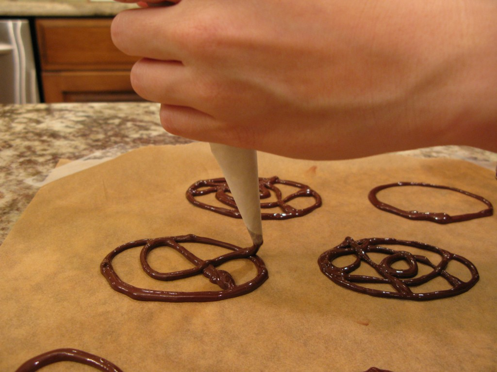 Gluten-Free, Grain-Free Chocolate Piping