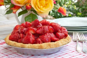 Gluten-Free, Grain-Free Strawberry Pie (Raw)