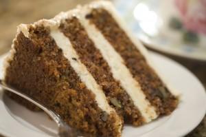 Decadent Slice of Carrot Cake