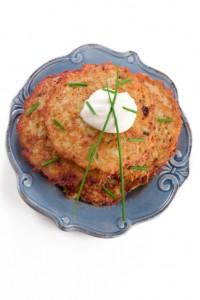 Plate of Potato Pancakes