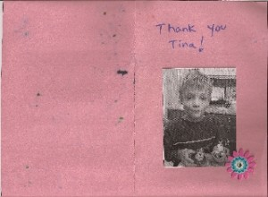 Thank you card - 2