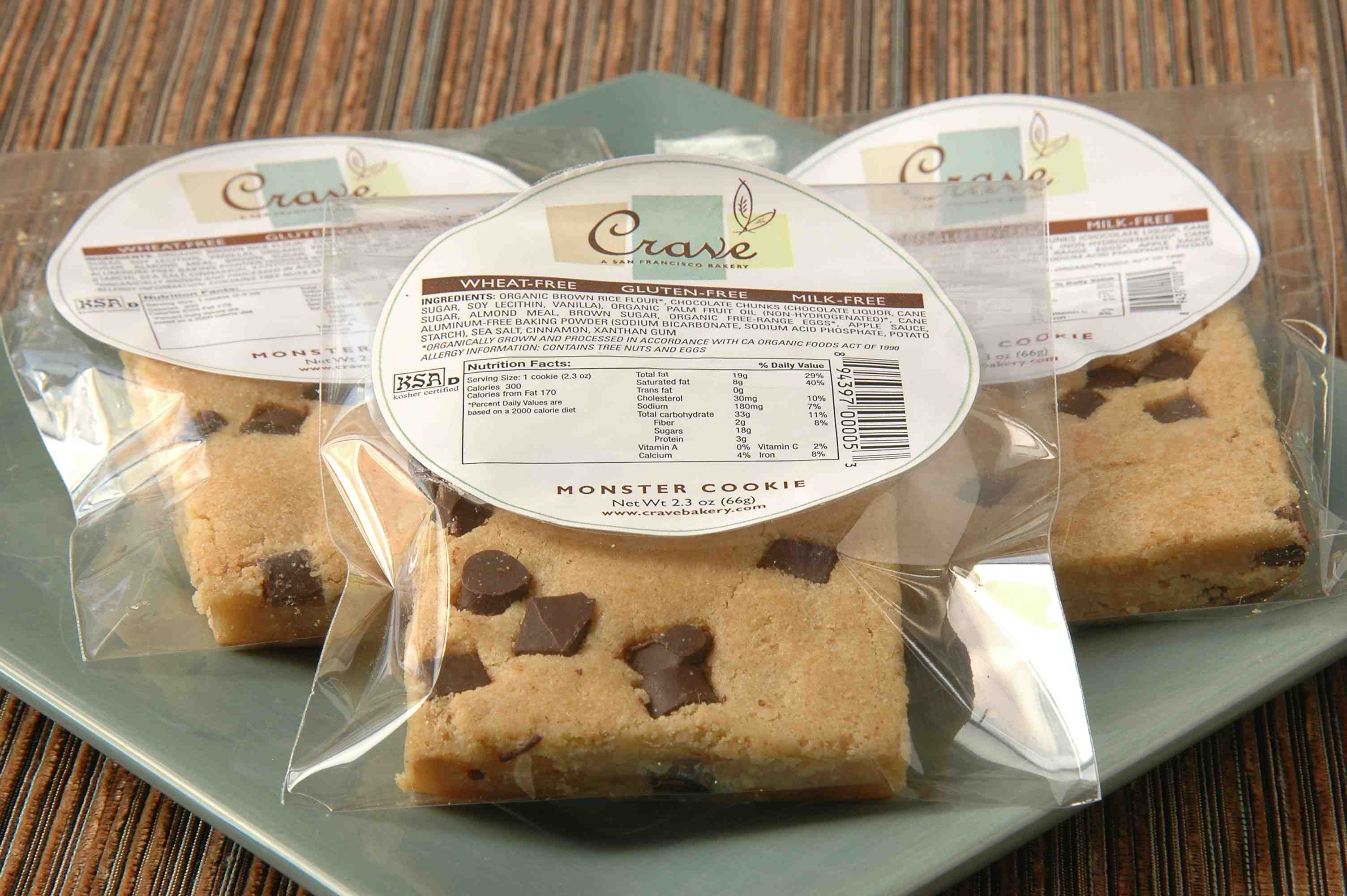 Terrific Crave A Very Fine Gluten Free Bakery Gluten Free Help Personalised Birthday Cards Arneslily Jamesorg