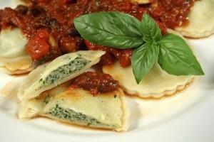 Gluten-Free Spinach Ravioli